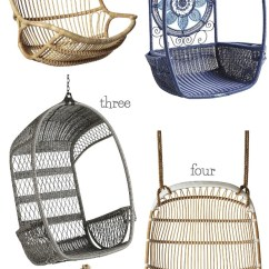 Swing Chair For A Bedroom Dining Covers Spotlight Australia Favorite Hanging Rattan Chairs Driven By Decor Five Great Choices Your Patio Or Even