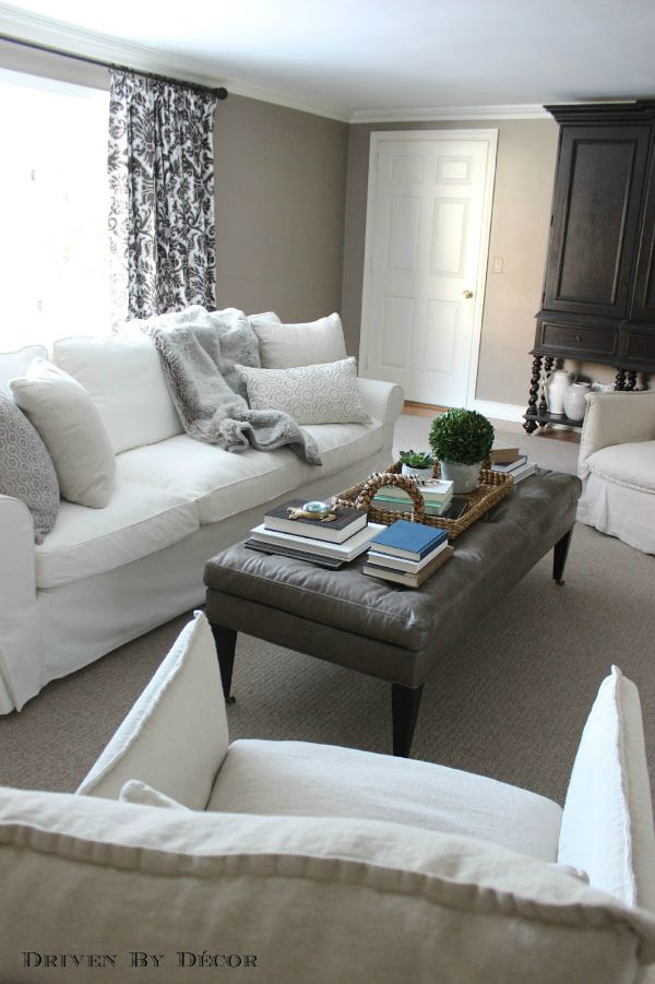 chair slipcovers ikea staples white office how we supersized our ektorp sofa | driven by decor