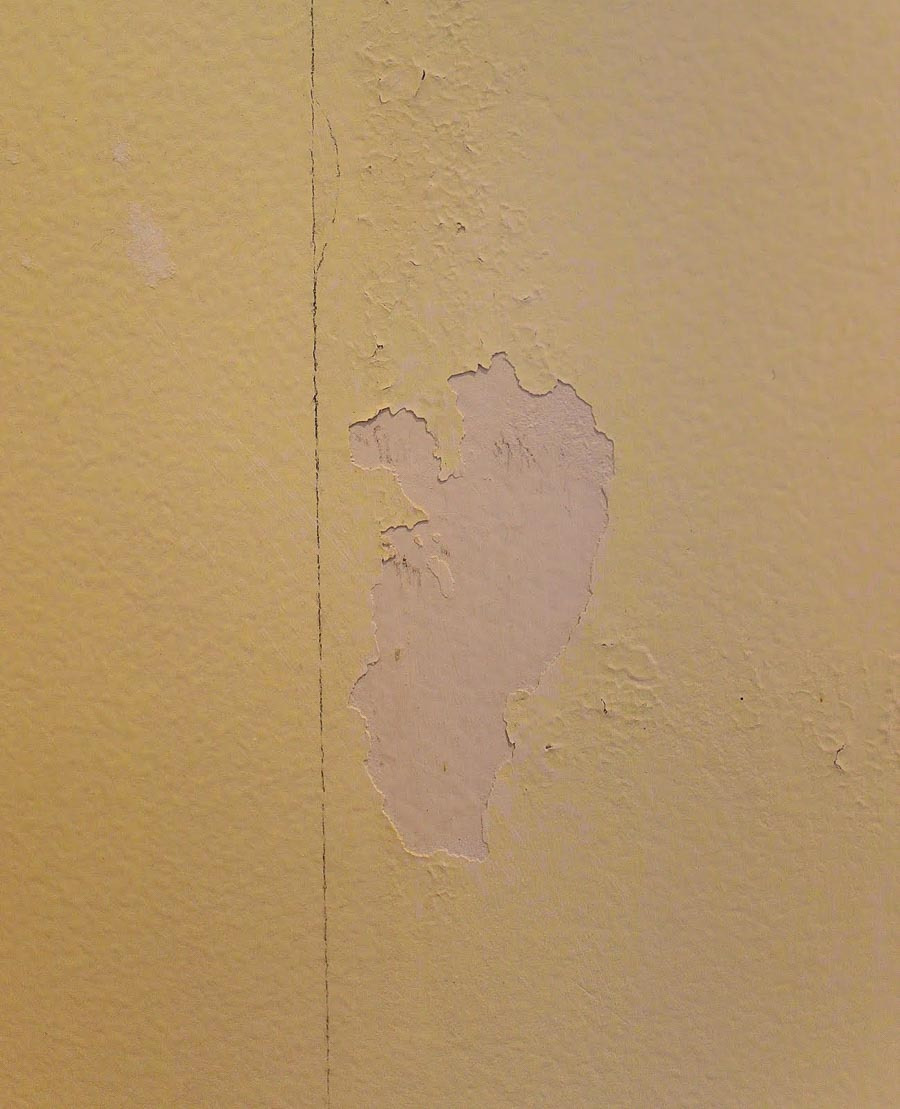 can you paint over wallpaper glue residue ...