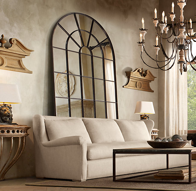 An Idea for Decorating the Wall Behind Your Sofa   Driven by Decor