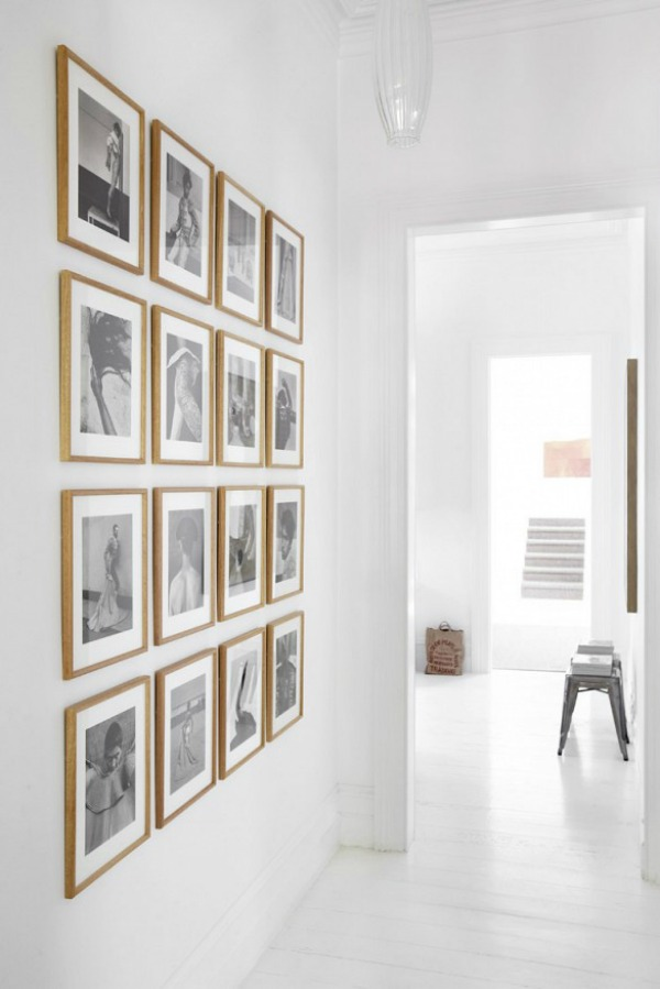 Project Design My Gallery Wall Before  Driven by Decor