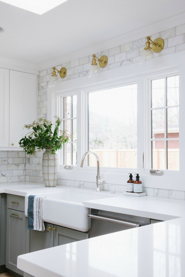 backsplash kitchen counter height table sets tile how high to go driven by decor great post about take your love it all the way
