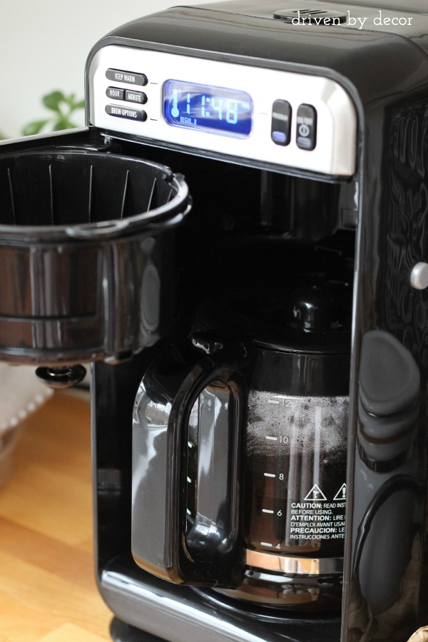 pull up kitchen cabinets mens shoes organizing the kitchen: our new coffee station   driven by ...