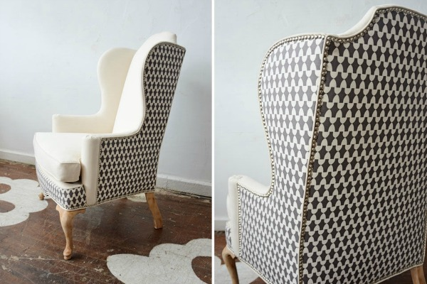 One Chair Two Different Fabrics  Driven by Decor