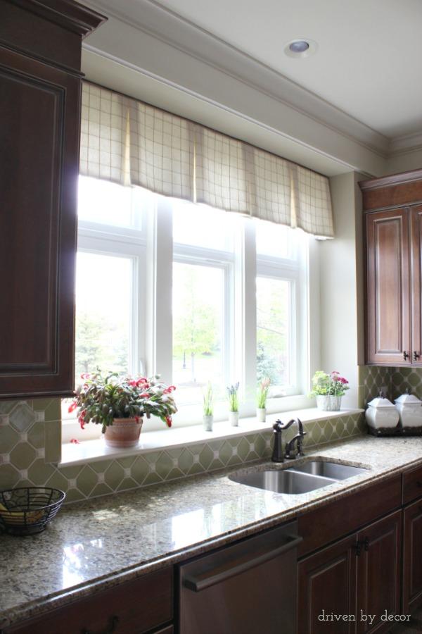 Kitchen Windows Above Sink