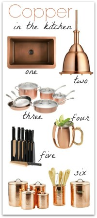 Copper in the Kitchen | Driven by Decor