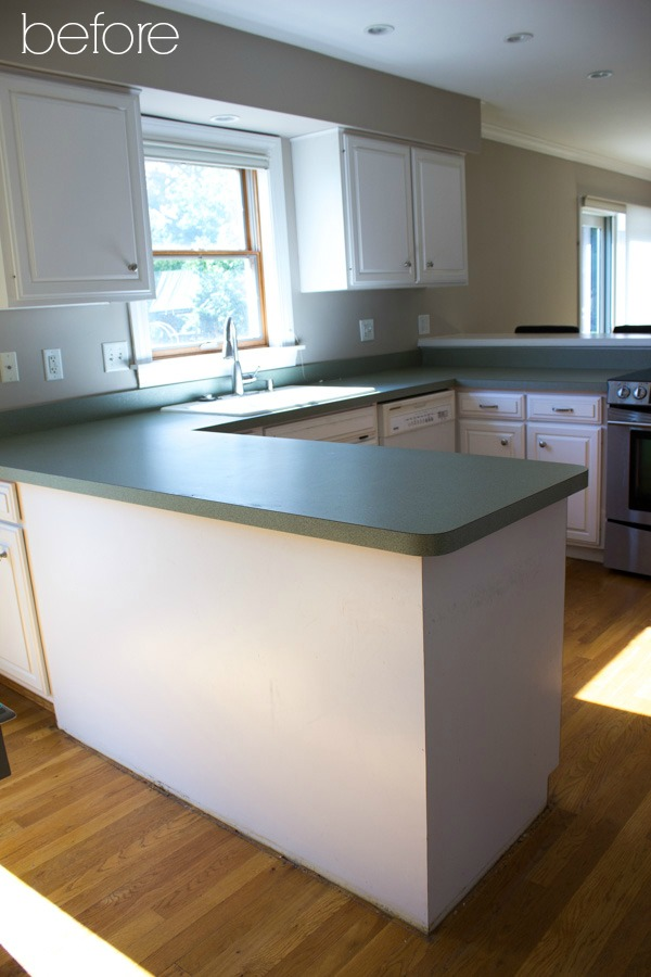 kitchen cabinet reface discount hardware refacing our before afters driven by decor pic of prior to