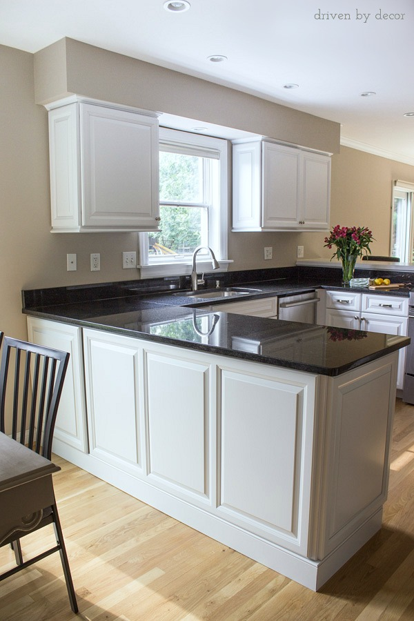 budget kitchen cabinets lg suite cabinet refacing our before afters driven by decor remodel with refaced and new granite