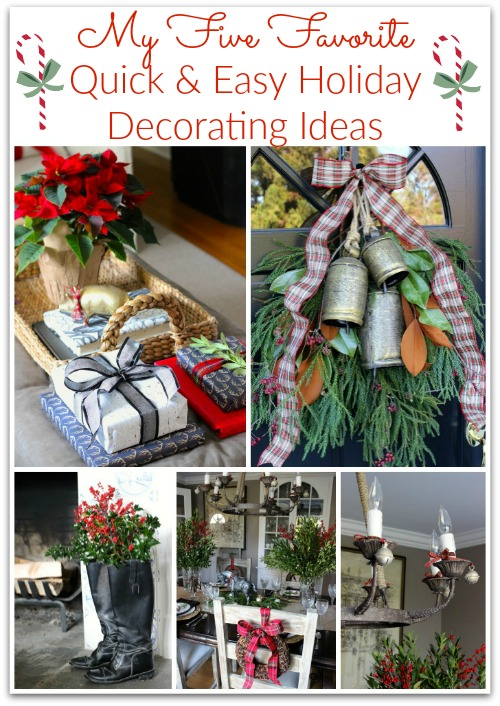 Five Simple Holiday Decorating Ideas For A Beautiful Home