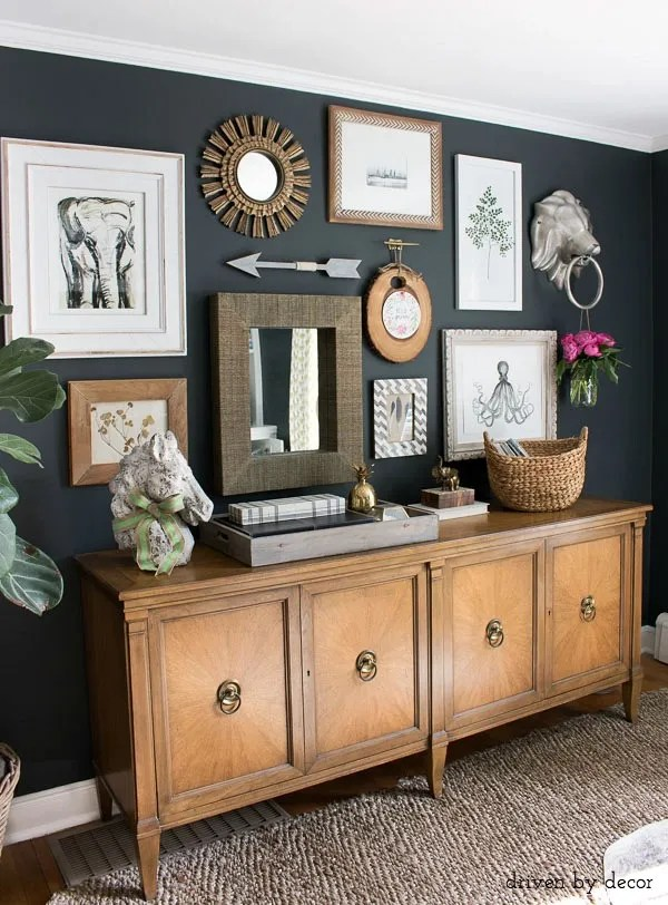 A Diyers Small E Home Tour Decor Gallery Wall How To And Diy