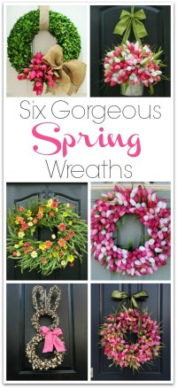 Six Gorgeous Spring Wreaths to Dress Up Your Front Door ...