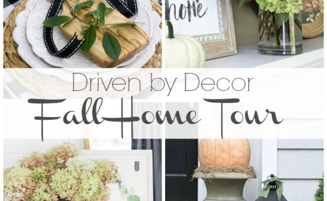 My 2016 Eclectically Fall Home Tour Driven By Decor