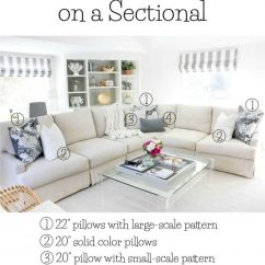 Throw Pillows For Living Room Couch Cosy With Log Burner 101 How To Choose Arrange Driven By Decor Great Post About On Sofas And Sectionals Other Pillow Tips