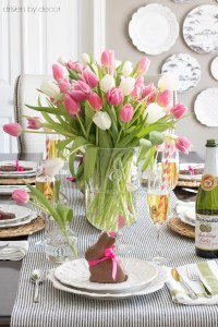 Setting a Simple Easter Table (With Decorations You Can ...