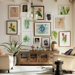 Ideas For A Bare Living Room Wall Pendant Light Inspiration Filling Up Your Walls With Art Gorgeous Arrangement Of Over Console