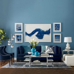 Ideas For A Bare Living Room Wall Gray And Yellow Color Scheme Inspiration Filling Up Your Walls With Art Great Idea How To Hang Over Sofa