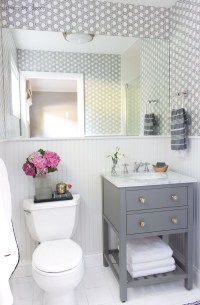 "Our Small Guest Bathroom Makeover: The ""Before"" and ""After"
