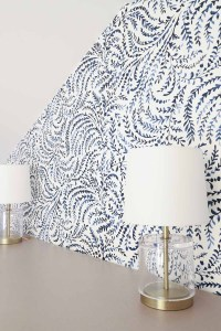 One Room Challenge Week 6: Wallpaper Love, Sputnik & Shade ...
