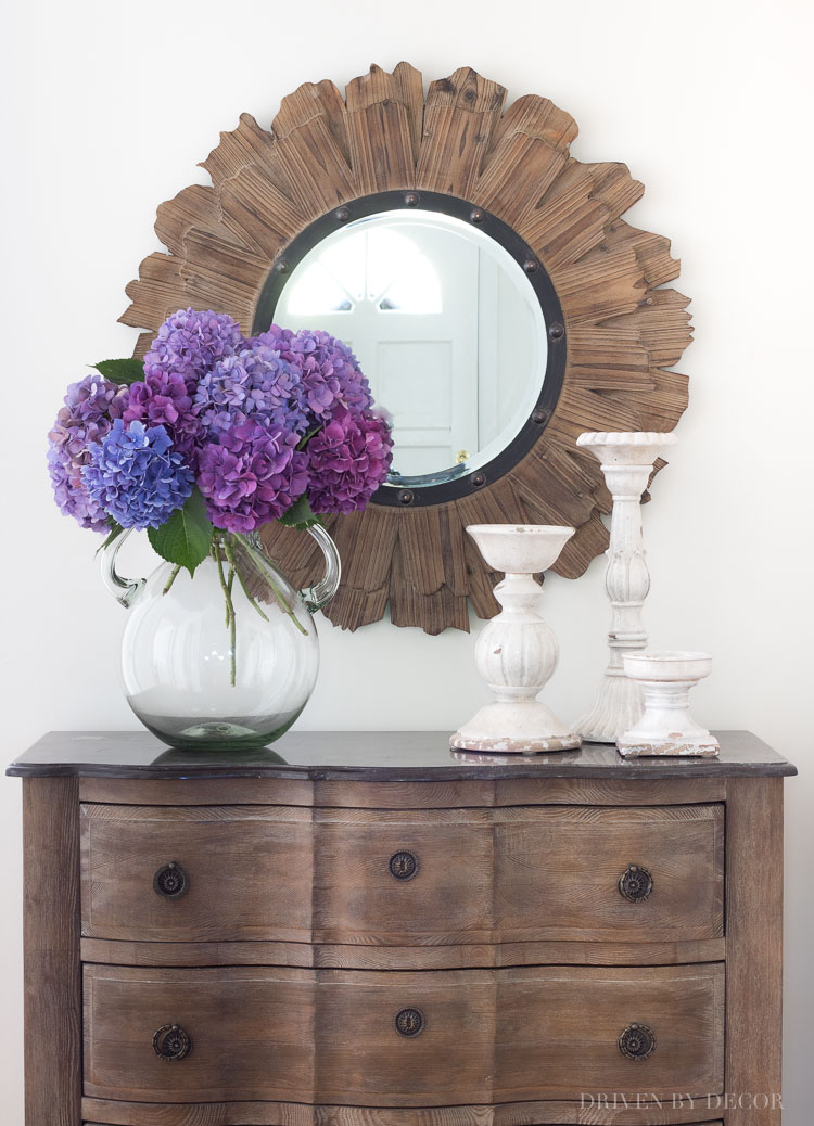 Ideas for Decorating with Round Mirrors  Driven by Decor