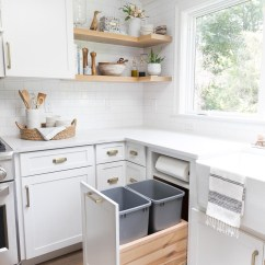 Pull Out Kitchen Cabinet Kitchens Direct Storage Organization Ideas From Our New Driven Trash Can With Two Bins And A Built In