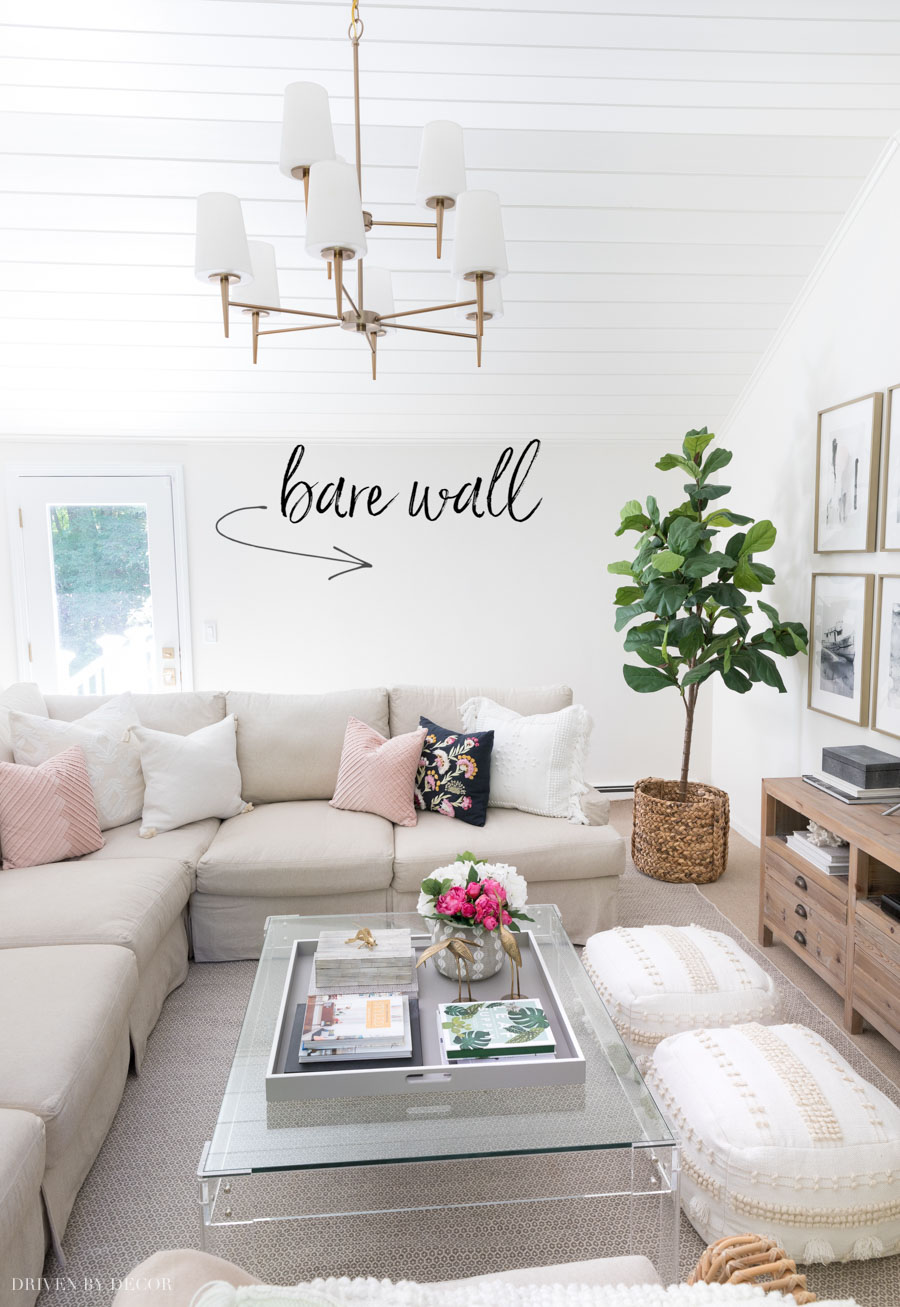 6 Living Room Wall Decor Ideas Say Goodbye To Those Bare Walls Driven By Decor