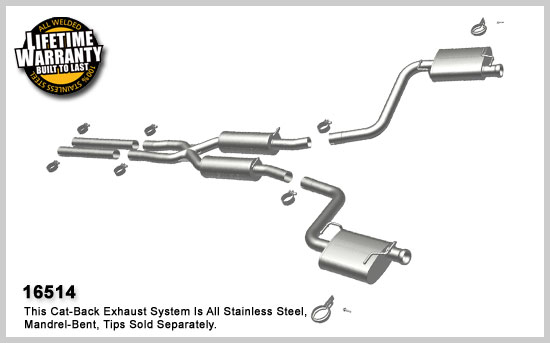 https www drivenbystyle com 2009 2012 dodge challenger rt 5 7l v8 stainless cat back dual exhaust uses oem tips 45944 html