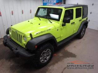 Jeep Wrangler Detail
