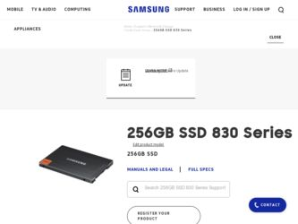 Samsung MZ-7PC256D Driver and Firmware Downloads