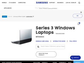 Samsung NP300E4C Driver and Firmware Downloads