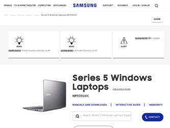 Samsung NP535U4C Driver and Firmware Downloads