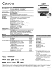 Canon i560 Series Driver and Firmware Downloads