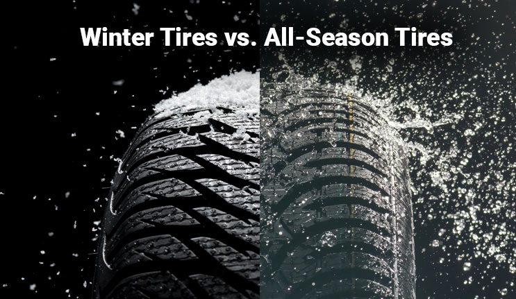 All Season Tires >> Winter Vs All Season Tires The Difference Is Real