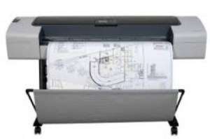 Hp designjet t1100 printer series practical printing examples.