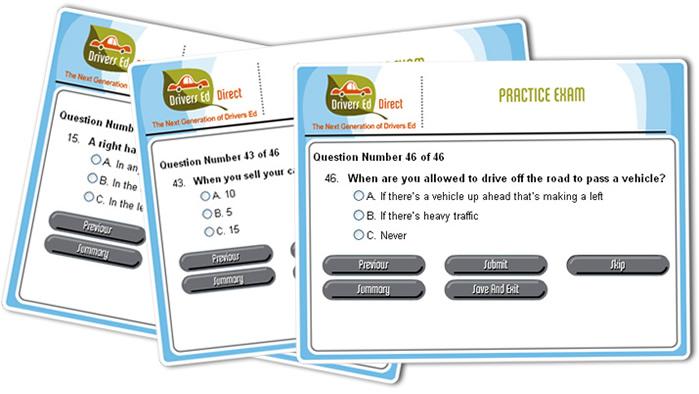 Drivers Ed Online >> Drivers Ed Practice Test Decoration De Maison Idees De Design D