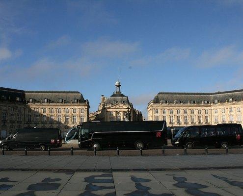 Bus avec chauffeur privé à Bordeaux