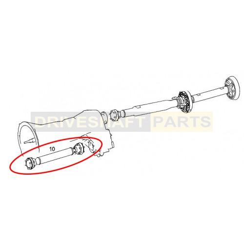 Mercedes ML 164 GL X164 Front Propshaft A1644100501
