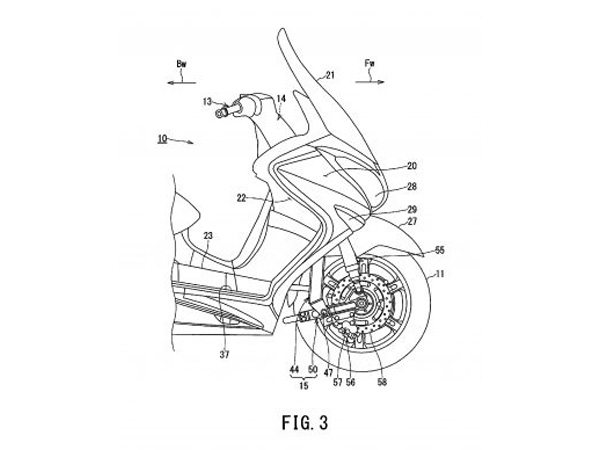 Two-Wheel-Drive Suzuki Burgman Scooter Patents Filed