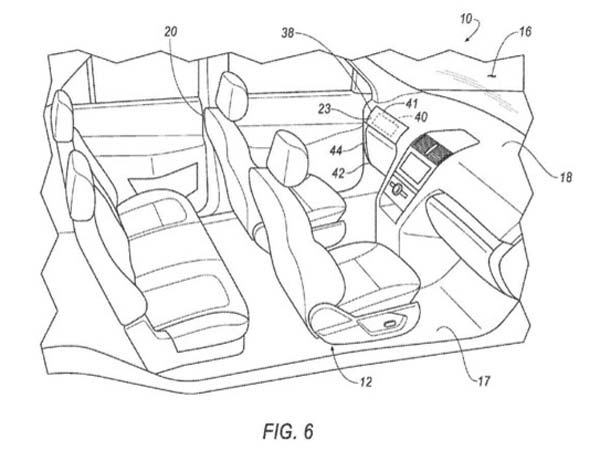 Ford Patents Car With removable Steering And Pedals