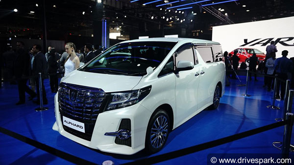 brand new toyota alphard for sale grand veloz silver mpv expected india launch details price specs might be launched in effect of the import rules