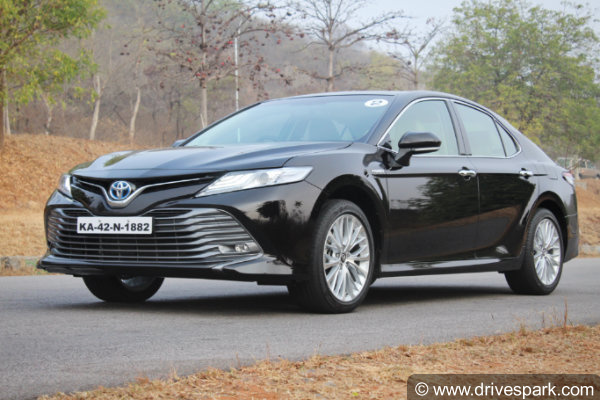 all new camry hybrid review agya trd s 2017 2019 toyota first drive performance specs