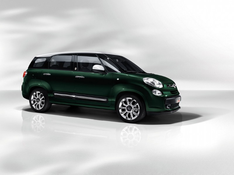 Fiat 500XL 500L Living 2013 Magic Purpose Wagon 01