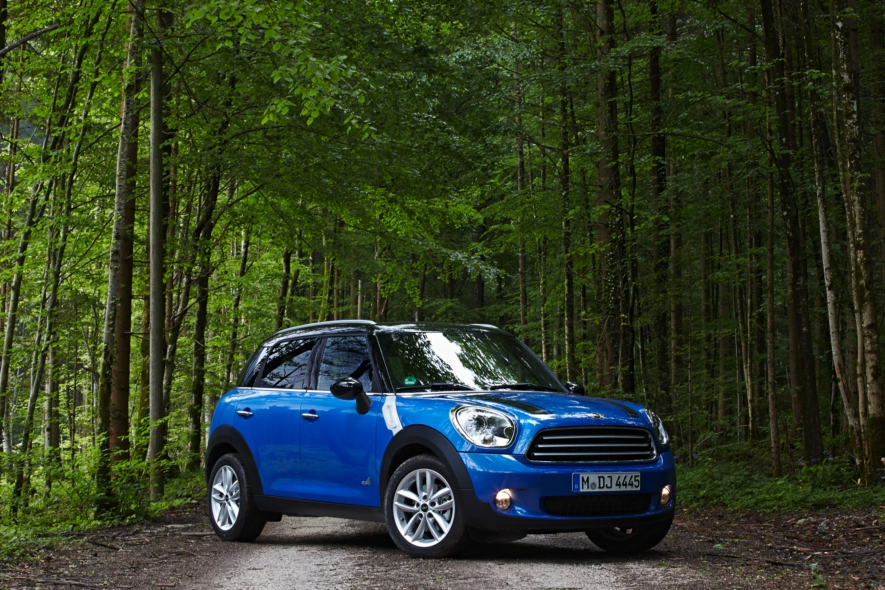 Mini Cooper Countryman ALL4 2013 blauw  039