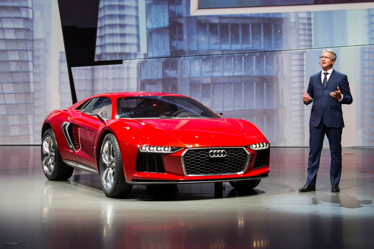 Audi bei der Volkswagen Group Night - IAA Frankfurt 2013