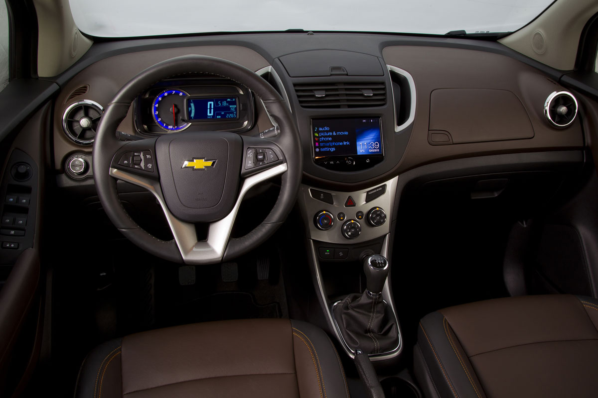 Chevrolet Trax FWD 1.4 Turbo rood 2014 04