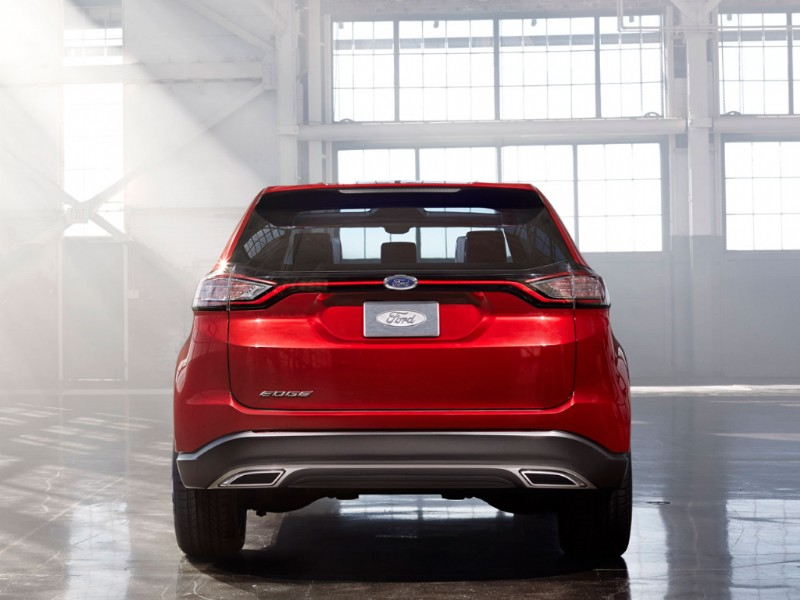 Ford Edge Europa Concept rood 2015 04