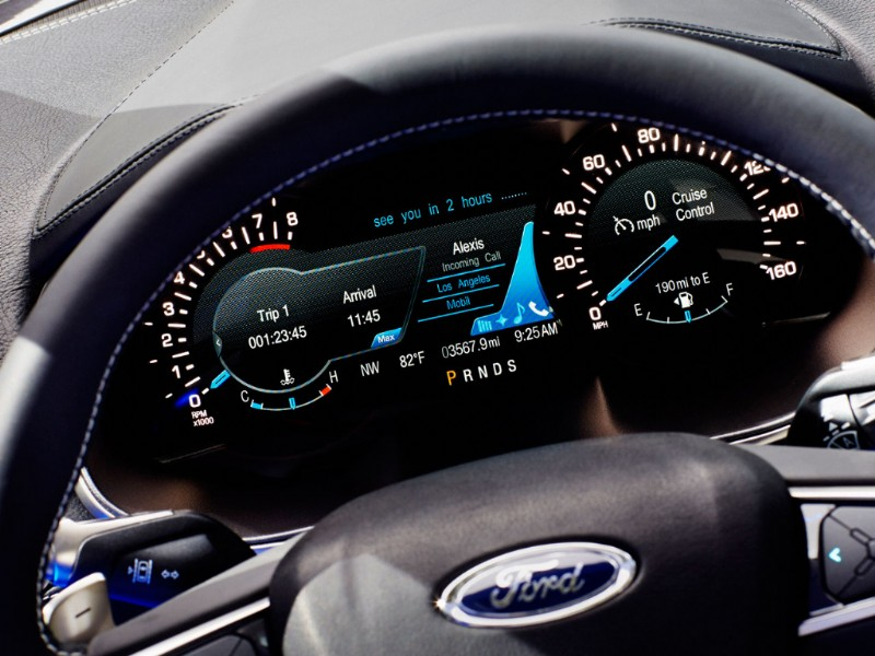 Ford Edge Europa Concept rood 2015 06