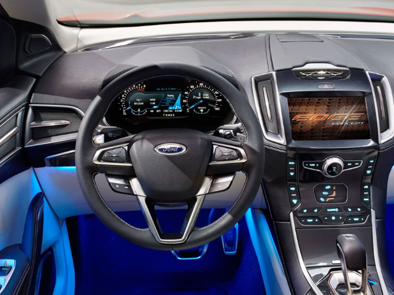Ford Edge Europa Concept rood 2015 07