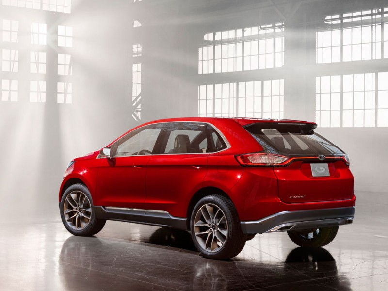 Ford Edge Europa Concept rood 2015 14