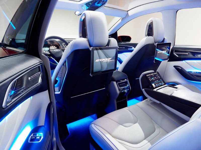 Ford Edge Europa Concept rood 2015 15