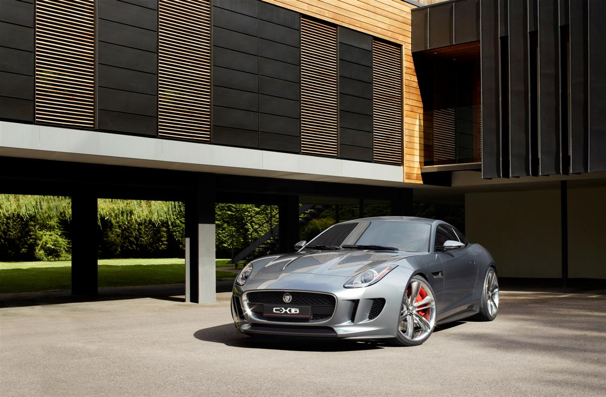 Jaguar C-X16 F-Type Coupe Concept 2011 01